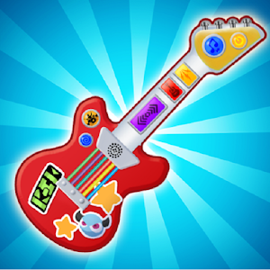 Pink Real Guitar for Kid - Music Kids For PC / Windows 7/8/10 / Mac – Free Download