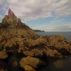 rock by Jozef Svintek - Landscapes Mountains & Hills ( sand, sky, sea, seascape, rocks )
