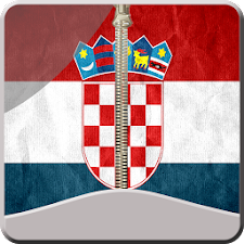 Croatia Zipper ScreenLock