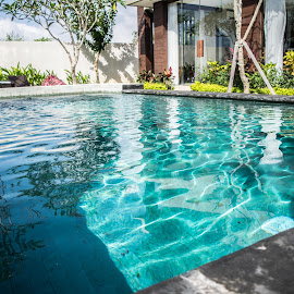 Private Pool in Villa by Loh Jiann - Buildings & Architecture Homes ( home, bali, building, pool, private )