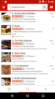 Screenshot of Yelp