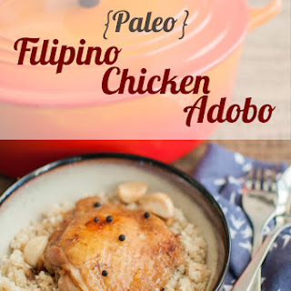 Paleo Filipino Chicken Adobo