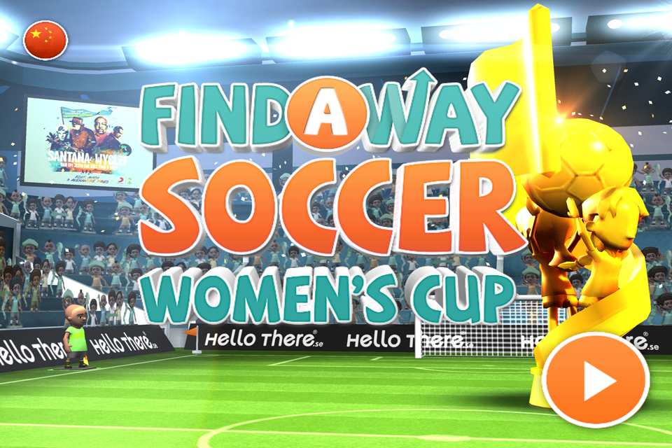 Find a Way Soccer: Women's Cup Screenshot 0
