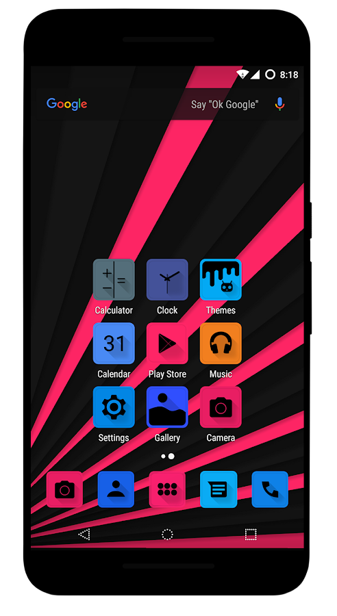 Dazz CM13 / CM12.1 Theme Screenshot 2