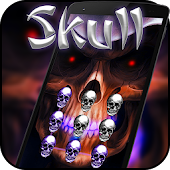 Free Hell Skull Skeleton AppLock APK for Windows 8