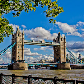 Tower Bridge by Bharath Pasupuleti - Buildings & Architecture Bridges & Suspended Structures ( tower bridge, landmark, travel )