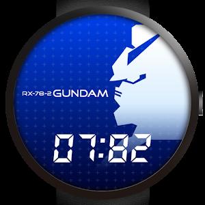 Cover art Gundam RX-78-2 Watch face