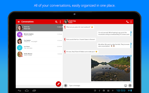Free Verizon Messages APK for Windows 8