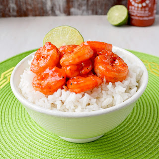 Sweet & Spicy Sriracha Shrimp