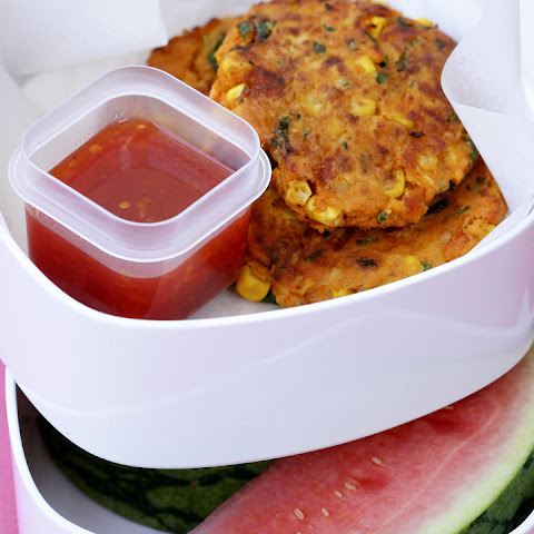 Sweet Potato and Corn Cakes