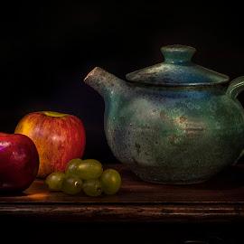 Tea Time by Sue Matsunaga - Artistic Objects Still Life