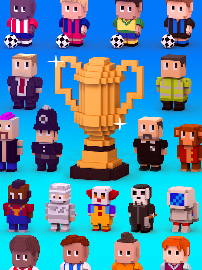 Blocky Soccer Screenshot 10