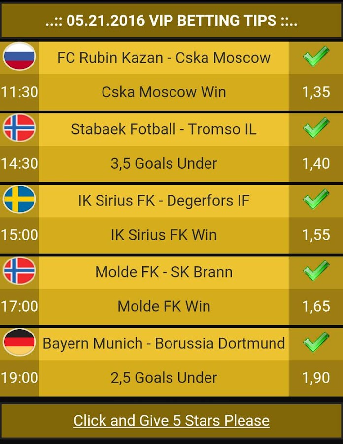 Betting Tips VIP Screenshot 5