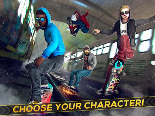 Subway Skateboard Ride Tricks - Extreme Skating screenshot 6