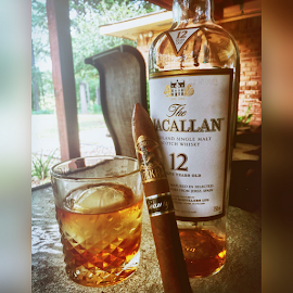 Living the Dream.. by Alan Dougherty - Food & Drink Alcohol & Drinks ( #themacallan #scotch #povertyacrephotography )