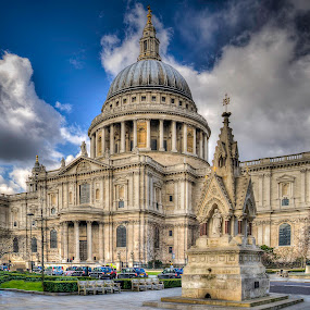 St Paul's Cathedral  by Mark Shoesmith - Buildings & Architecture Places of Worship ( st., london, hdr, church, paul's, cathedral,  )