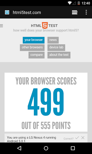 Android System WebView screenshot 1