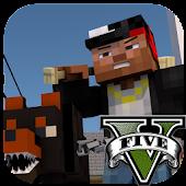 Mod && Skin GTA V for Minecraft APK for iPhone