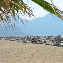 Turtle Beach, Dalyan River, Turkey by Bill Frank - Landscapes Beaches ( beaches, mediterranean, turkey, travel, travel photography, travel locations )