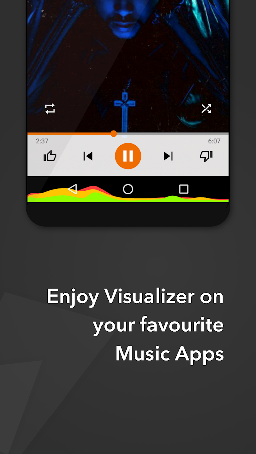 Muviz - Navbar Music Visualizer Screenshot 1