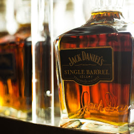 JD on the Shelf by Nathaniel Beighley - Food & Drink Alcohol & Drinks ( alcohol, 50mm, d600, nikon, drinks, jack daniels )
