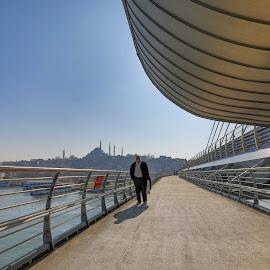 Şehr-i İstanbul by Veli Toluay - City,  Street & Park  Skylines ( süleymaniyecamii, fatih, i̇stanbul, haliç )