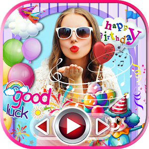 Download Birthday Party Slideshow Maker App with Music For PC Windows and Mac