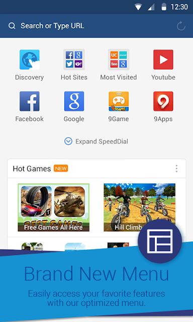 UC Browser Mini - Save Data screenshots