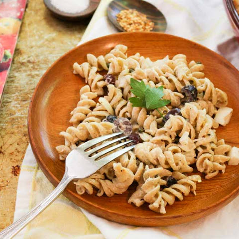 Mediterranean Tuna Pasta Salad with Capers and Olives