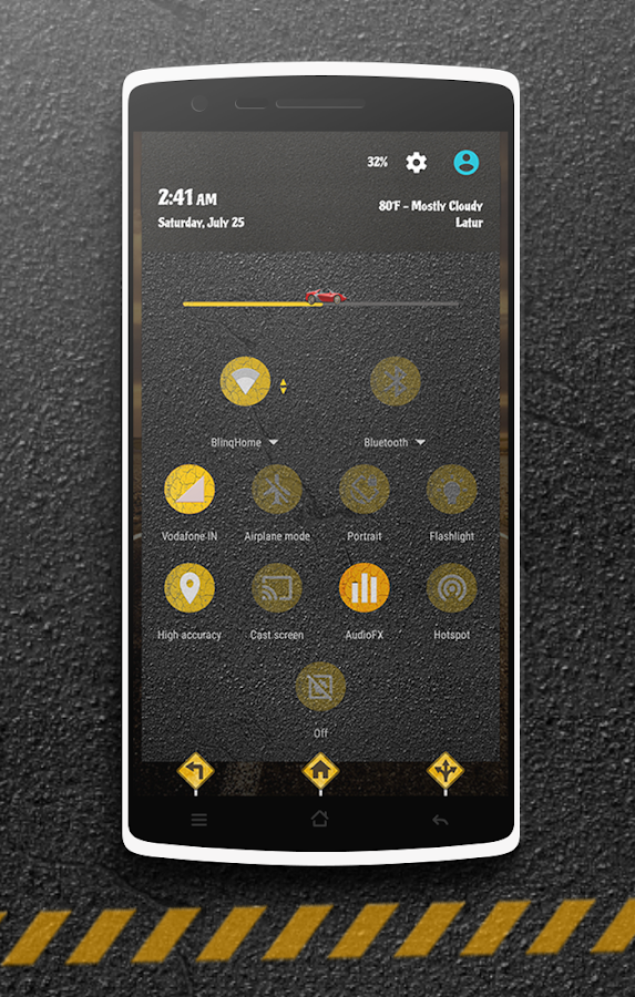 The Road CM13 CM12 DU Theme Screenshot