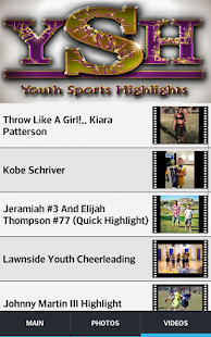 Youth Sports Highlights - screenshot