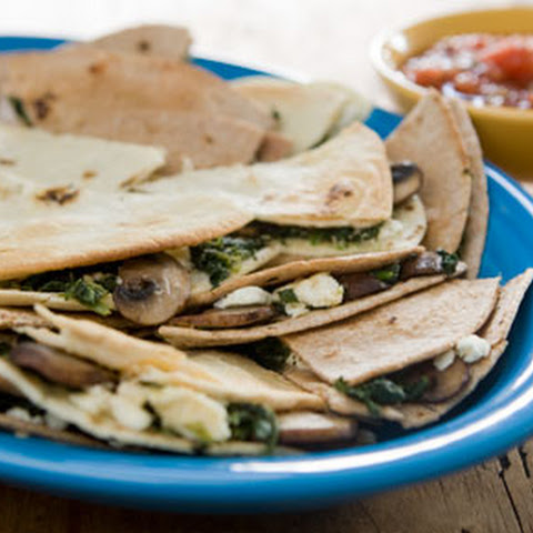 Weight Watchers Beef and Spinach Quesadillas