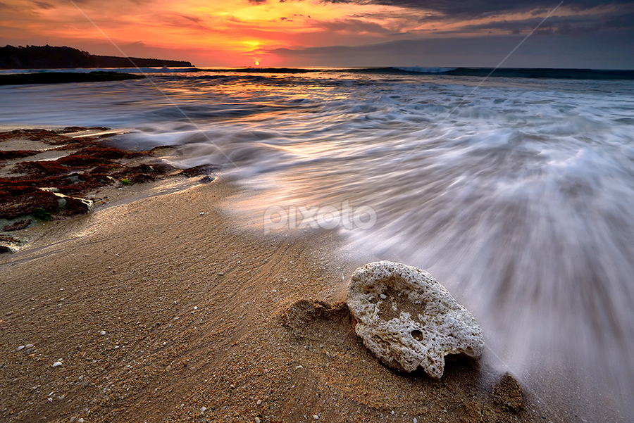lonely stone by Dody Herawan - Landscapes Sunsets & Sunrises