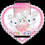 Cute Bunny Anime Theme Icon