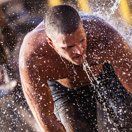 like a breath of fresh air 6 by Jose Luis Mendez Fernandez - Sports & Fitness Other Sports ( splash, runner, running, sweat, competition )