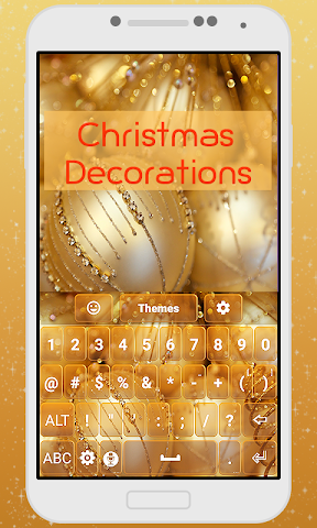 android Decorations Keyboard Theme Screenshot 2