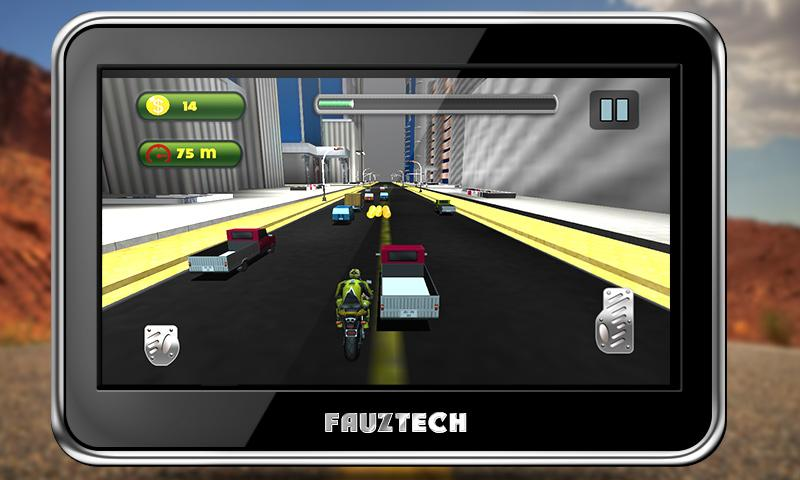 Highway Traffic Moto Racing Screenshot 9