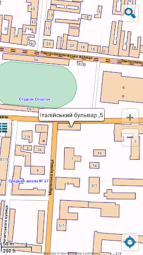 Map of Odessa offline - screenshot