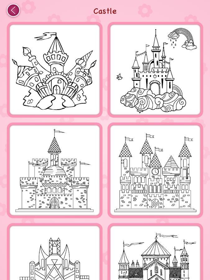 Princess coloring book Screenshot 15