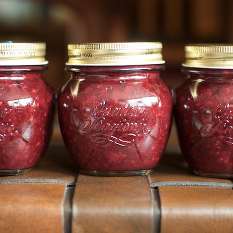 Low Sugar Blackberry Rhubarb Jam