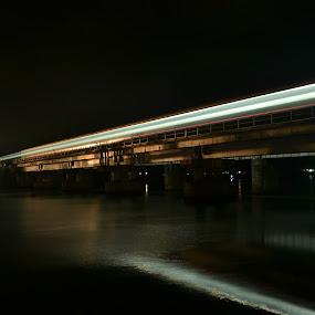by B Thottoli - Transportation Trains ( pwcbrides, mood factory, color, lighting, moods, colorful, light, bulbs, mood-lites )