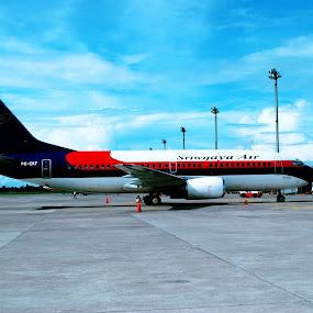 Pesawat ku by Raja Saputra - Transportation Airplanes