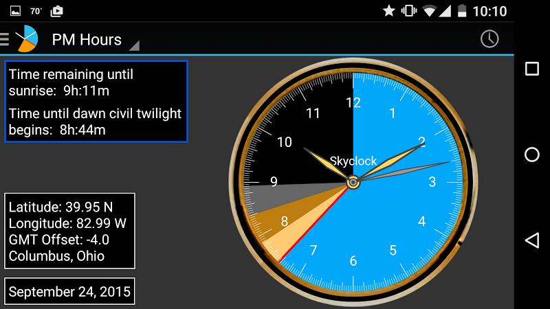 Skyclock Screenshot 1