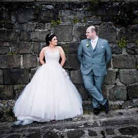 the look of love by Paul Jervis - Wedding Bride & Groom ( wedding, carrickfergus, northern ireland, paul jervis photography, county antrim )