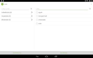 Screenshot of minetilbud