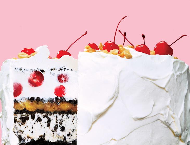 Banana Split Ice Cream Cake Recipe | Yummly