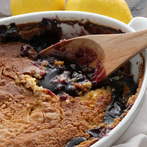 Lemon Blueberry Dump Cake
