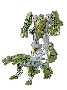 Робот трансформируется в Дракона зеленый M