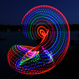 by Todd Klingler - Abstract Light Painting