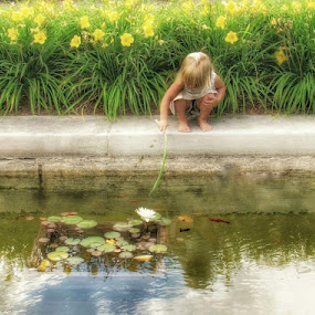 Im catching a fish  by Kelly Bowers - Nature Up Close Water ( #kids )